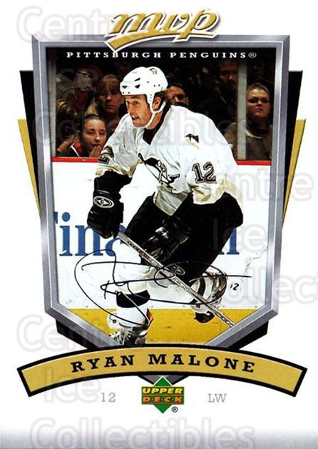 2006-07 Upper Deck MVP #239 Ryan Malone<br/>5 In Stock - $1.00 each - <a href=https://centericecollectibles.foxycart.com/cart?name=2006-07%20Upper%20Deck%20MVP%20%23239%20Ryan%20Malone...&quantity_max=5&price=$1.00&code=204923 class=foxycart> Buy it now! </a>