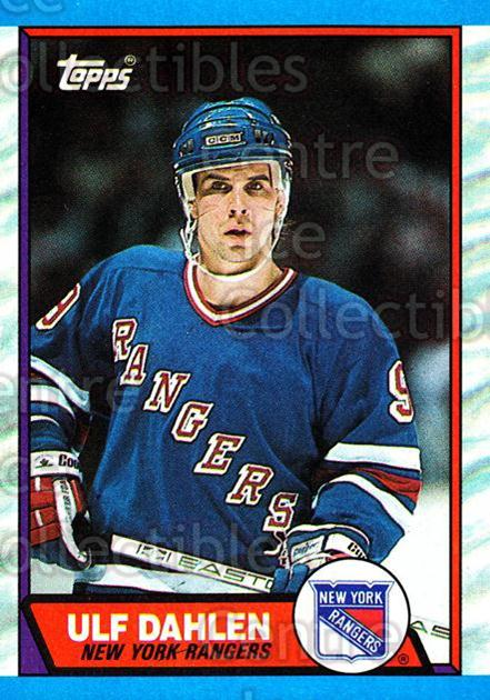 1989-90 Topps #2 Ulf Dahlen<br/>5 In Stock - $1.00 each - <a href=https://centericecollectibles.foxycart.com/cart?name=1989-90%20Topps%20%232%20Ulf%20Dahlen...&quantity_max=5&price=$1.00&code=20493 class=foxycart> Buy it now! </a>