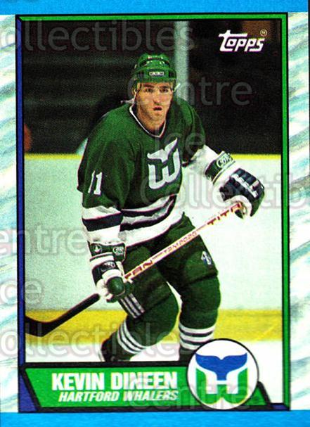 1989-90 Topps #20 Kevin Dineen<br/>6 In Stock - $1.00 each - <a href=https://centericecollectibles.foxycart.com/cart?name=1989-90%20Topps%20%2320%20Kevin%20Dineen...&quantity_max=6&price=$1.00&code=20494 class=foxycart> Buy it now! </a>