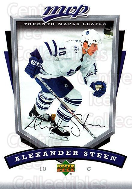 2006-07 Upper Deck MVP #270 Alexander Steen<br/>4 In Stock - $1.00 each - <a href=https://centericecollectibles.foxycart.com/cart?name=2006-07%20Upper%20Deck%20MVP%20%23270%20Alexander%20Steen...&quantity_max=4&price=$1.00&code=204958 class=foxycart> Buy it now! </a>