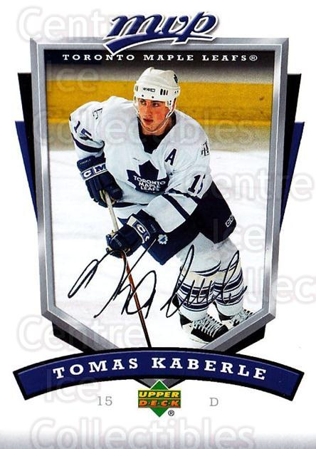 2006-07 Upper Deck MVP #272 Tomas Kaberle<br/>5 In Stock - $1.00 each - <a href=https://centericecollectibles.foxycart.com/cart?name=2006-07%20Upper%20Deck%20MVP%20%23272%20Tomas%20Kaberle...&quantity_max=5&price=$1.00&code=204960 class=foxycart> Buy it now! </a>
