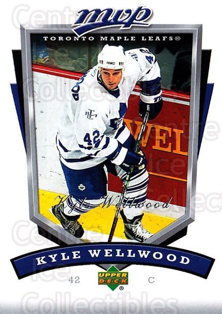 2006-07 Upper Deck MVP #275 Kyle Wellwood<br/>4 In Stock - $1.00 each - <a href=https://centericecollectibles.foxycart.com/cart?name=2006-07%20Upper%20Deck%20MVP%20%23275%20Kyle%20Wellwood...&quantity_max=4&price=$1.00&code=204963 class=foxycart> Buy it now! </a>