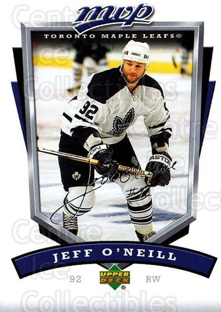 2006-07 Upper Deck MVP #279 Jeff O'Neill<br/>3 In Stock - $1.00 each - <a href=https://centericecollectibles.foxycart.com/cart?name=2006-07%20Upper%20Deck%20MVP%20%23279%20Jeff%20O'Neill...&quantity_max=3&price=$1.00&code=204967 class=foxycart> Buy it now! </a>