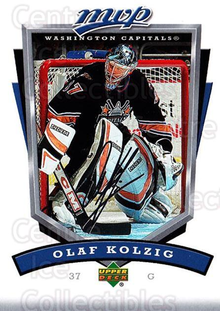 2006-07 Upper Deck MVP #293 Olaf Kolzig<br/>5 In Stock - $1.00 each - <a href=https://centericecollectibles.foxycart.com/cart?name=2006-07%20Upper%20Deck%20MVP%20%23293%20Olaf%20Kolzig...&quantity_max=5&price=$1.00&code=204983 class=foxycart> Buy it now! </a>
