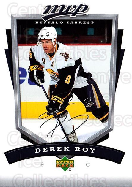 2006-07 Upper Deck MVP #38 Derek Roy<br/>4 In Stock - $1.00 each - <a href=https://centericecollectibles.foxycart.com/cart?name=2006-07%20Upper%20Deck%20MVP%20%2338%20Derek%20Roy...&quantity_max=4&price=$1.00&code=205039 class=foxycart> Buy it now! </a>