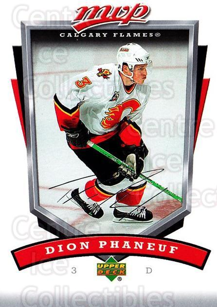 2006-07 Upper Deck MVP #46 Dion Phaneuf<br/>5 In Stock - $1.00 each - <a href=https://centericecollectibles.foxycart.com/cart?name=2006-07%20Upper%20Deck%20MVP%20%2346%20Dion%20Phaneuf...&price=$1.00&code=205048 class=foxycart> Buy it now! </a>