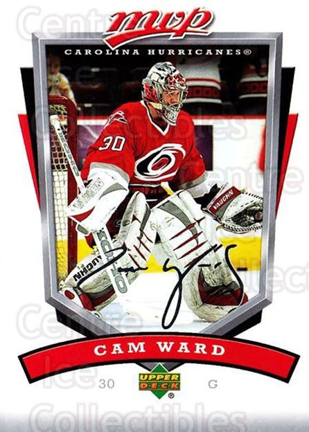 2006-07 Upper Deck MVP #51 Cam Ward<br/>5 In Stock - $1.00 each - <a href=https://centericecollectibles.foxycart.com/cart?name=2006-07%20Upper%20Deck%20MVP%20%2351%20Cam%20Ward...&price=$1.00&code=205054 class=foxycart> Buy it now! </a>