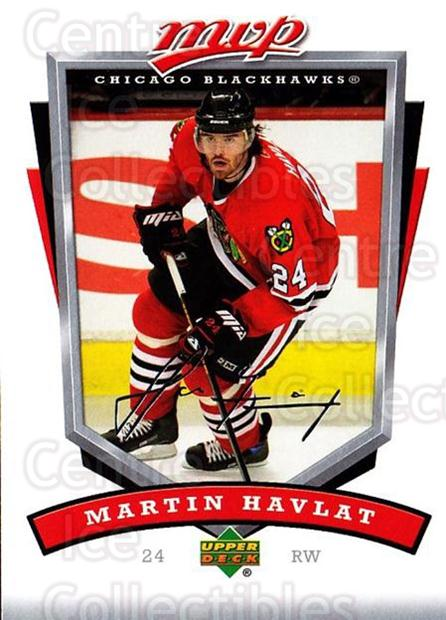 2006-07 Upper Deck MVP #65 Martin Havlat<br/>5 In Stock - $1.00 each - <a href=https://centericecollectibles.foxycart.com/cart?name=2006-07%20Upper%20Deck%20MVP%20%2365%20Martin%20Havlat...&quantity_max=5&price=$1.00&code=205069 class=foxycart> Buy it now! </a>