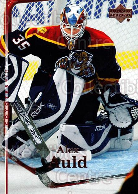 2007-08 Upper Deck #191 Alex Auld<br/>12 In Stock - $1.00 each - <a href=https://centericecollectibles.foxycart.com/cart?name=2007-08%20Upper%20Deck%20%23191%20Alex%20Auld...&quantity_max=12&price=$1.00&code=205390 class=foxycart> Buy it now! </a>