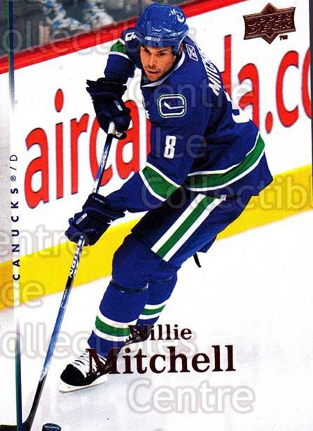 2007-08 Upper Deck #286 Willie Mitchell<br/>11 In Stock - $1.00 each - <a href=https://centericecollectibles.foxycart.com/cart?name=2007-08%20Upper%20Deck%20%23286%20Willie%20Mitchell...&quantity_max=11&price=$1.00&code=205440 class=foxycart> Buy it now! </a>