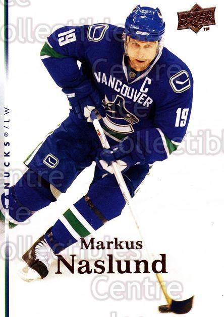 2007-08 Upper Deck #289 Markus Naslund<br/>11 In Stock - $1.00 each - <a href=https://centericecollectibles.foxycart.com/cart?name=2007-08%20Upper%20Deck%20%23289%20Markus%20Naslund...&quantity_max=11&price=$1.00&code=205443 class=foxycart> Buy it now! </a>