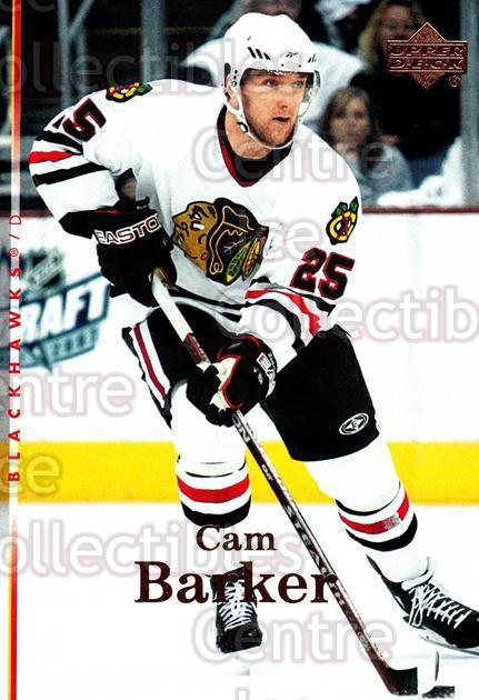 2007-08 Upper Deck #30 Cam Barker<br/>12 In Stock - $1.00 each - <a href=https://centericecollectibles.foxycart.com/cart?name=2007-08%20Upper%20Deck%20%2330%20Cam%20Barker...&quantity_max=12&price=$1.00&code=205456 class=foxycart> Buy it now! </a>