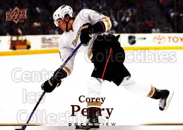 2007-08 Upper Deck #322 Corey Perry<br/>12 In Stock - $1.00 each - <a href=https://centericecollectibles.foxycart.com/cart?name=2007-08%20Upper%20Deck%20%23322%20Corey%20Perry...&quantity_max=12&price=$1.00&code=205479 class=foxycart> Buy it now! </a>