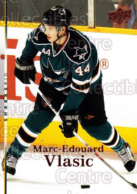 2007-08 Upper Deck #327 Marc-Edouard Vlasic<br/>10 In Stock - $1.00 each - <a href=https://centericecollectibles.foxycart.com/cart?name=2007-08%20Upper%20Deck%20%23327%20Marc-Edouard%20Vl...&quantity_max=10&price=$1.00&code=205484 class=foxycart> Buy it now! </a>