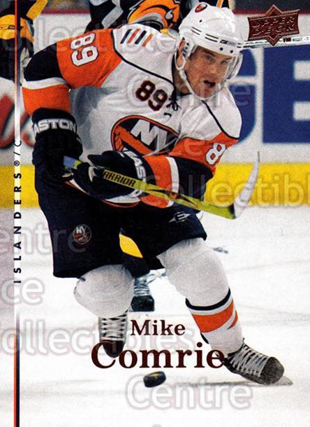 2007-08 Upper Deck #376 Mike Comrie<br/>12 In Stock - $1.00 each - <a href=https://centericecollectibles.foxycart.com/cart?name=2007-08%20Upper%20Deck%20%23376%20Mike%20Comrie...&quantity_max=12&price=$1.00&code=205535 class=foxycart> Buy it now! </a>