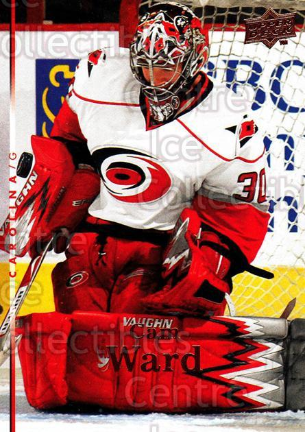 2007-08 Upper Deck #430 Cam Ward<br/>13 In Stock - $1.00 each - <a href=https://centericecollectibles.foxycart.com/cart?name=2007-08%20Upper%20Deck%20%23430%20Cam%20Ward...&price=$1.00&code=205592 class=foxycart> Buy it now! </a>