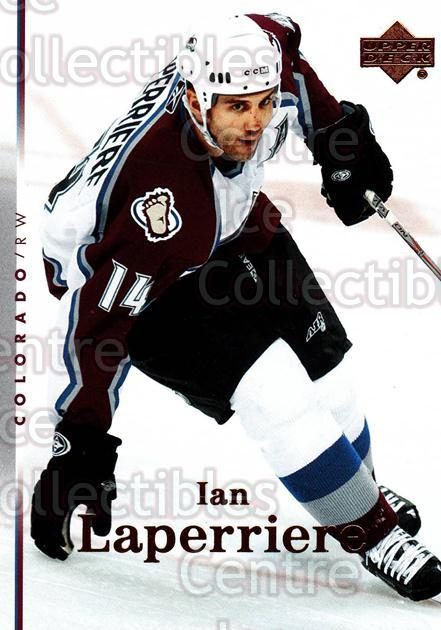 2007-08 Upper Deck #56 Ian Laperriere<br/>13 In Stock - $1.00 each - <a href=https://centericecollectibles.foxycart.com/cart?name=2007-08%20Upper%20Deck%20%2356%20Ian%20Laperriere...&quantity_max=13&price=$1.00&code=205626 class=foxycart> Buy it now! </a>