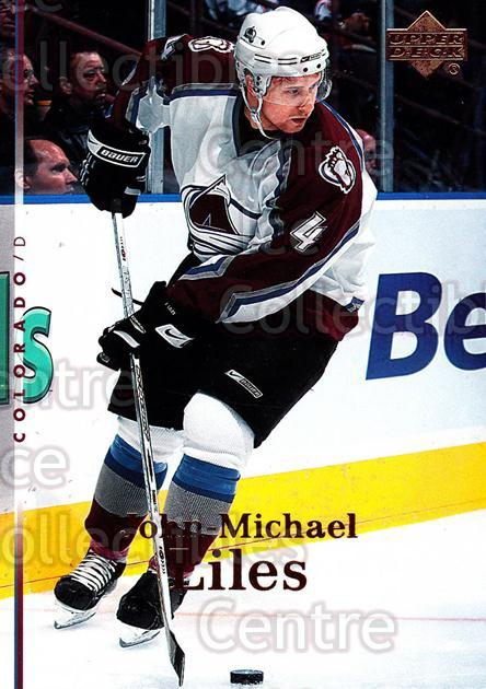 2007-08 Upper Deck #59 John-Michael Liles<br/>13 In Stock - $1.00 each - <a href=https://centericecollectibles.foxycart.com/cart?name=2007-08%20Upper%20Deck%20%2359%20John-Michael%20Li...&quantity_max=13&price=$1.00&code=205629 class=foxycart> Buy it now! </a>