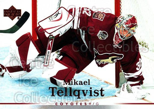 2007-08 Upper Deck #96 Mikael Tellqvist<br/>12 In Stock - $1.00 each - <a href=https://centericecollectibles.foxycart.com/cart?name=2007-08%20Upper%20Deck%20%2396%20Mikael%20Tellqvis...&quantity_max=12&price=$1.00&code=205670 class=foxycart> Buy it now! </a>