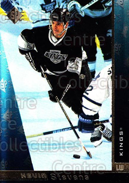 1996-97 SP #73 Kevin Stevens<br/>4 In Stock - $1.00 each - <a href=https://centericecollectibles.foxycart.com/cart?name=1996-97%20SP%20%2373%20Kevin%20Stevens...&quantity_max=4&price=$1.00&code=205680 class=foxycart> Buy it now! </a>