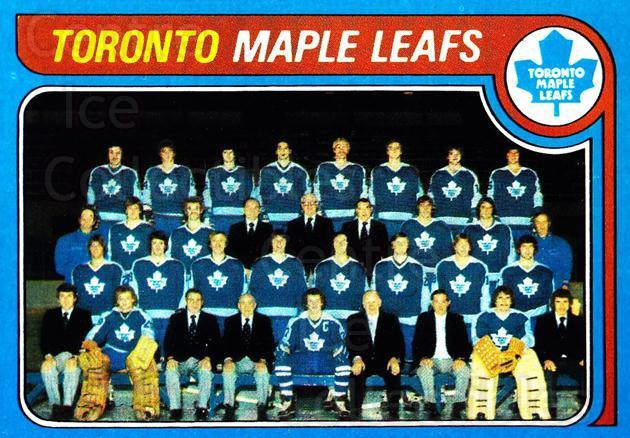 1979-80 Topps #258 Toronto Maple Leafs, Checklist<br/>3 In Stock - $3.00 each - <a href=https://centericecollectibles.foxycart.com/cart?name=1979-80%20Topps%20%23258%20Toronto%20Maple%20L...&quantity_max=3&price=$3.00&code=205750 class=foxycart> Buy it now! </a>