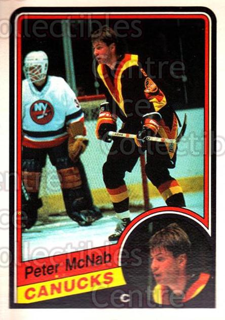 1984-85 O-Pee-Chee #326 Peter McNab<br/>6 In Stock - $1.00 each - <a href=https://centericecollectibles.foxycart.com/cart?name=1984-85%20O-Pee-Chee%20%23326%20Peter%20McNab...&quantity_max=6&price=$1.00&code=205777 class=foxycart> Buy it now! </a>