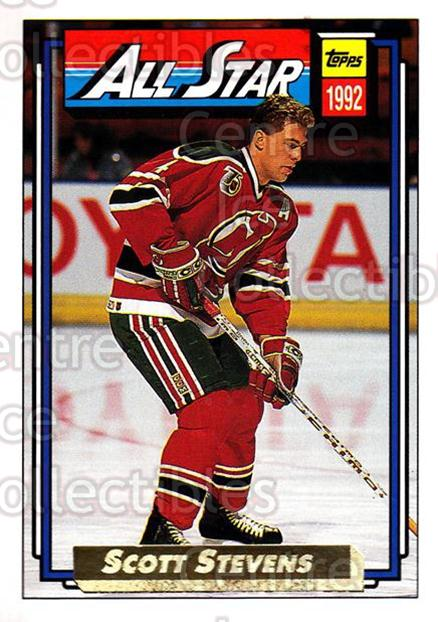 1992-93 Topps Gold #269 Scott Stevens<br/>8 In Stock - $2.00 each - <a href=https://centericecollectibles.foxycart.com/cart?name=1992-93%20Topps%20Gold%20%23269%20Scott%20Stevens...&quantity_max=8&price=$2.00&code=205826 class=foxycart> Buy it now! </a>