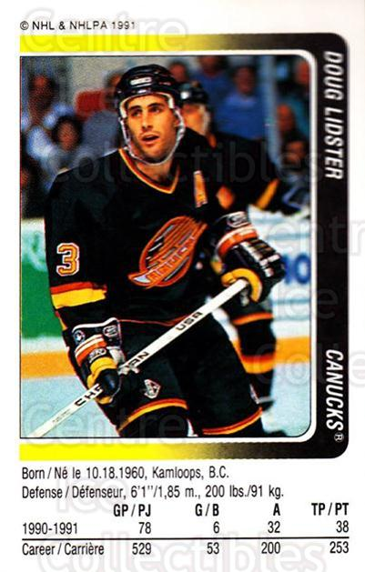 1991-92 Panini Stickers #40 Doug Lidster<br/>7 In Stock - $1.00 each - <a href=https://centericecollectibles.foxycart.com/cart?name=1991-92%20Panini%20Stickers%20%2340%20Doug%20Lidster...&quantity_max=7&price=$1.00&code=205846 class=foxycart> Buy it now! </a>