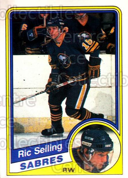 1984-85 O-Pee-Chee #31 Ric Seiling<br/>9 In Stock - $1.00 each - <a href=https://centericecollectibles.foxycart.com/cart?name=1984-85%20O-Pee-Chee%20%2331%20Ric%20Seiling...&quantity_max=9&price=$1.00&code=205873 class=foxycart> Buy it now! </a>