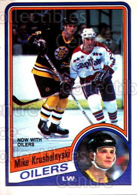 1984-85 O-Pee-Chee #248 Mike Krushelnyski<br/>8 In Stock - $1.00 each - <a href=https://centericecollectibles.foxycart.com/cart?name=1984-85%20O-Pee-Chee%20%23248%20Mike%20Krushelnys...&quantity_max=8&price=$1.00&code=205874 class=foxycart> Buy it now! </a>