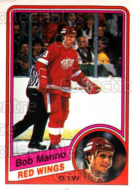 1984-85 O-Pee-Chee #59 Bob Manno<br/>9 In Stock - $1.00 each - <a href=https://centericecollectibles.foxycart.com/cart?name=1984-85%20O-Pee-Chee%20%2359%20Bob%20Manno...&quantity_max=9&price=$1.00&code=205905 class=foxycart> Buy it now! </a>