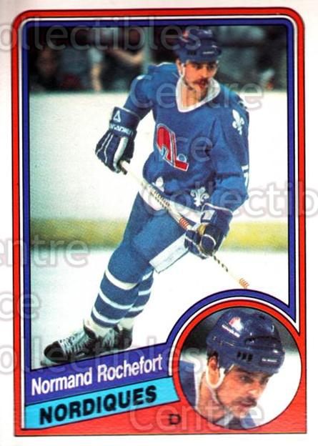 1984-85 O-Pee-Chee #287 Normand Rochefort<br/>11 In Stock - $1.00 each - <a href=https://centericecollectibles.foxycart.com/cart?name=1984-85%20O-Pee-Chee%20%23287%20Normand%20Rochefo...&quantity_max=11&price=$1.00&code=205918 class=foxycart> Buy it now! </a>