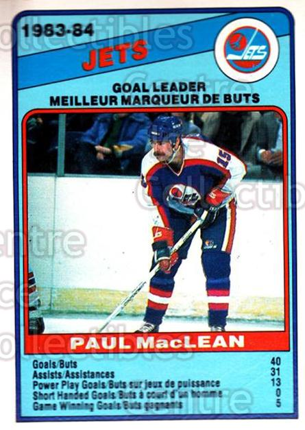 1984-85 O-Pee-Chee #371 Paul MacLean<br/>9 In Stock - $1.00 each - <a href=https://centericecollectibles.foxycart.com/cart?name=1984-85%20O-Pee-Chee%20%23371%20Paul%20MacLean...&quantity_max=9&price=$1.00&code=205932 class=foxycart> Buy it now! </a>