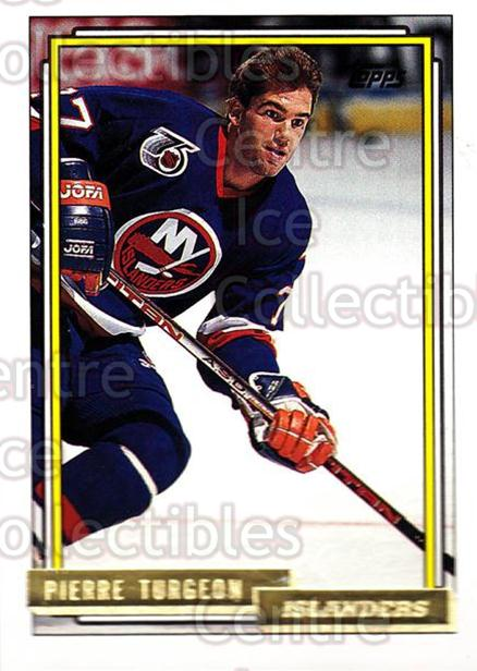 1992-93 Topps Gold #289 Pierre Turgeon<br/>7 In Stock - $2.00 each - <a href=https://centericecollectibles.foxycart.com/cart?name=1992-93%20Topps%20Gold%20%23289%20Pierre%20Turgeon...&quantity_max=7&price=$2.00&code=205971 class=foxycart> Buy it now! </a>