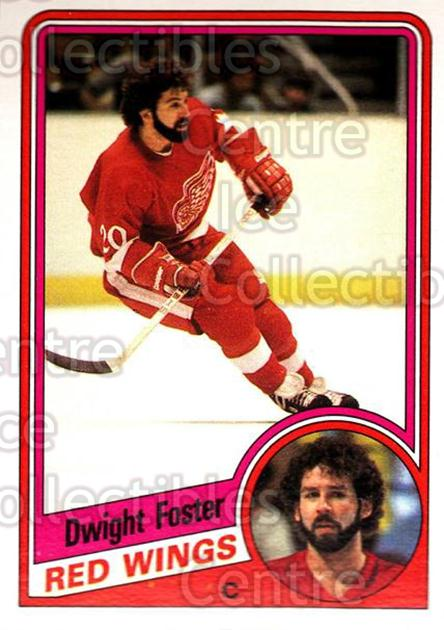 1984-85 O-Pee-Chee #53 Dwight Foster<br/>11 In Stock - $1.00 each - <a href=https://centericecollectibles.foxycart.com/cart?name=1984-85%20O-Pee-Chee%20%2353%20Dwight%20Foster...&quantity_max=11&price=$1.00&code=205973 class=foxycart> Buy it now! </a>
