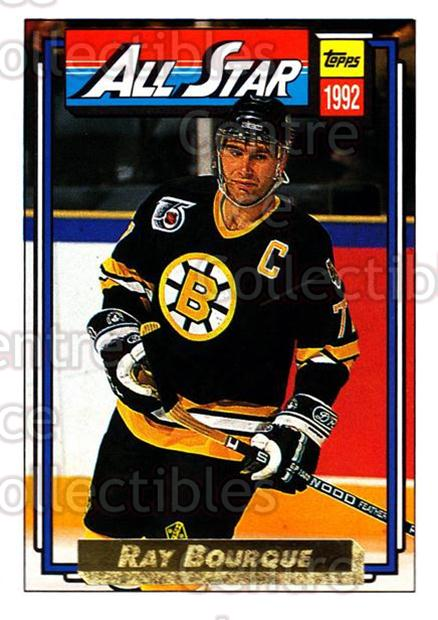 1992-93 Topps Gold #262 Ray Bourque<br/>4 In Stock - $2.00 each - <a href=https://centericecollectibles.foxycart.com/cart?name=1992-93%20Topps%20Gold%20%23262%20Ray%20Bourque...&quantity_max=4&price=$2.00&code=205974 class=foxycart> Buy it now! </a>