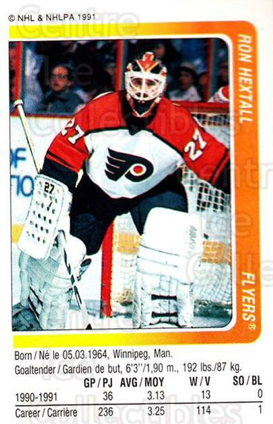 1991-92 Panini Stickers #227 Ron Hextall<br/>3 In Stock - $1.00 each - <a href=https://centericecollectibles.foxycart.com/cart?name=1991-92%20Panini%20Stickers%20%23227%20Ron%20Hextall...&quantity_max=3&price=$1.00&code=205982 class=foxycart> Buy it now! </a>