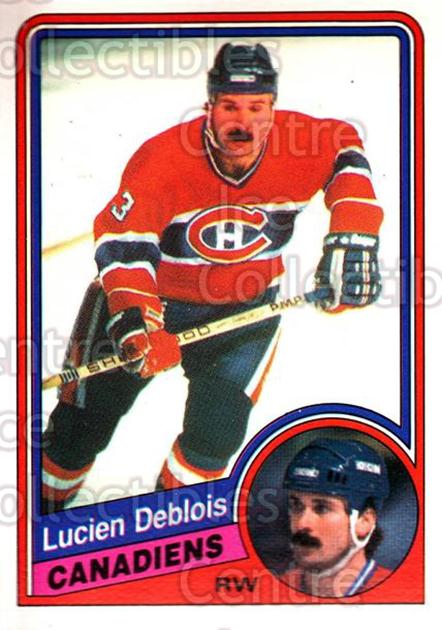 1984-85 O-Pee-Chee #260 Lucien DeBlois<br/>6 In Stock - $1.00 each - <a href=https://centericecollectibles.foxycart.com/cart?name=1984-85%20O-Pee-Chee%20%23260%20Lucien%20DeBlois...&quantity_max=6&price=$1.00&code=206002 class=foxycart> Buy it now! </a>