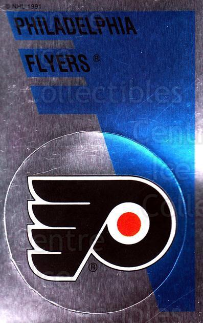 1991-92 Panini Stickers #167 Philadelphia Flyers<br/>5 In Stock - $1.00 each - <a href=https://centericecollectibles.foxycart.com/cart?name=1991-92%20Panini%20Stickers%20%23167%20Philadelphia%20Fl...&quantity_max=5&price=$1.00&code=206018 class=foxycart> Buy it now! </a>