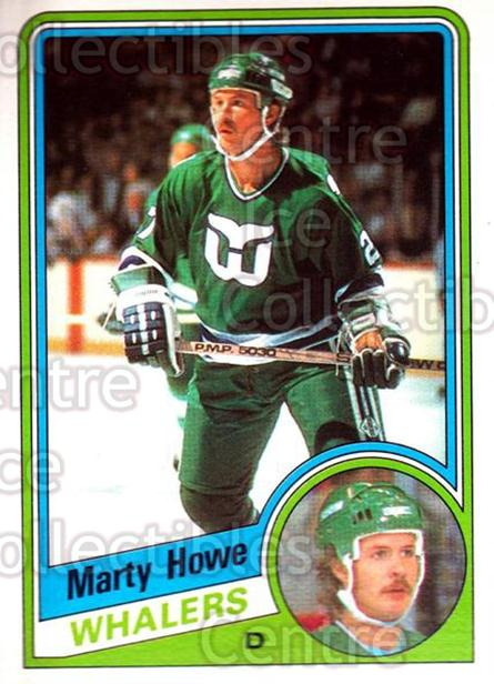 1984-85 O-Pee-Chee #71 Marty Howe<br/>9 In Stock - $1.00 each - <a href=https://centericecollectibles.foxycart.com/cart?name=1984-85%20O-Pee-Chee%20%2371%20Marty%20Howe...&quantity_max=9&price=$1.00&code=206051 class=foxycart> Buy it now! </a>