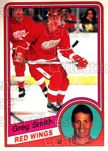 1984-85 O-Pee-Chee #64 Greg Smith<br/>10 In Stock - $1.00 each - <a href=https://centericecollectibles.foxycart.com/cart?name=1984-85%20O-Pee-Chee%20%2364%20Greg%20Smith...&quantity_max=10&price=$1.00&code=206068 class=foxycart> Buy it now! </a>