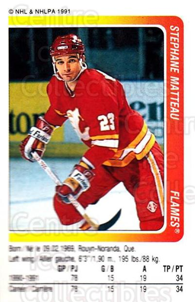1991-92 Panini Stickers #62 Stephane Matteau<br/>7 In Stock - $1.00 each - <a href=https://centericecollectibles.foxycart.com/cart?name=1991-92%20Panini%20Stickers%20%2362%20Stephane%20Mattea...&quantity_max=7&price=$1.00&code=206069 class=foxycart> Buy it now! </a>