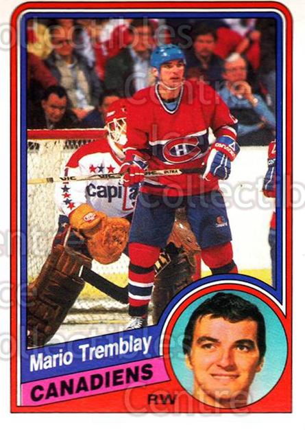 1984-85 O-Pee-Chee #274 Mario Tremblay<br/>5 In Stock - $1.00 each - <a href=https://centericecollectibles.foxycart.com/cart?name=1984-85%20O-Pee-Chee%20%23274%20Mario%20Tremblay...&quantity_max=5&price=$1.00&code=206097 class=foxycart> Buy it now! </a>