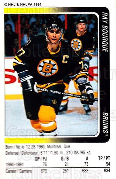 1991-92 Panini Stickers #171 Ray Bourque<br/>6 In Stock - $1.00 each - <a href=https://centericecollectibles.foxycart.com/cart?name=1991-92%20Panini%20Stickers%20%23171%20Ray%20Bourque...&quantity_max=6&price=$1.00&code=206102 class=foxycart> Buy it now! </a>