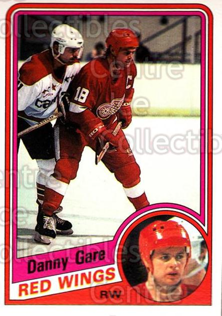 1984-85 O-Pee-Chee #54 Danny Gare<br/>9 In Stock - $1.00 each - <a href=https://centericecollectibles.foxycart.com/cart?name=1984-85%20O-Pee-Chee%20%2354%20Danny%20Gare...&quantity_max=9&price=$1.00&code=206116 class=foxycart> Buy it now! </a>