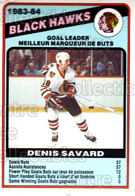 1984-85 O-Pee-Chee #355 Denis Savard<br/>10 In Stock - $2.00 each - <a href=https://centericecollectibles.foxycart.com/cart?name=1984-85%20O-Pee-Chee%20%23355%20Denis%20Savard...&quantity_max=10&price=$2.00&code=206165 class=foxycart> Buy it now! </a>