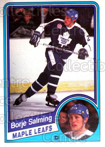 1984-85 O-Pee-Chee #311 Borje Salming<br/>1 In Stock - $2.00 each - <a href=https://centericecollectibles.foxycart.com/cart?name=1984-85%20O-Pee-Chee%20%23311%20Borje%20Salming...&quantity_max=1&price=$2.00&code=206231 class=foxycart> Buy it now! </a>