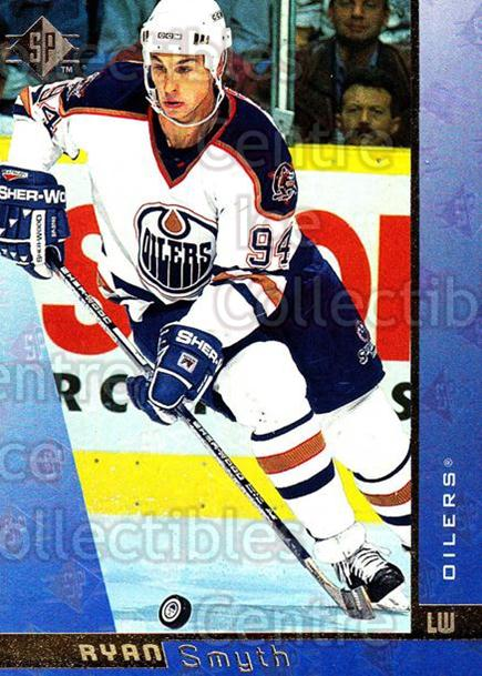 1996-97 SP #56 Ryan Smyth<br/>6 In Stock - $1.00 each - <a href=https://centericecollectibles.foxycart.com/cart?name=1996-97%20SP%20%2356%20Ryan%20Smyth...&quantity_max=6&price=$1.00&code=206251 class=foxycart> Buy it now! </a>