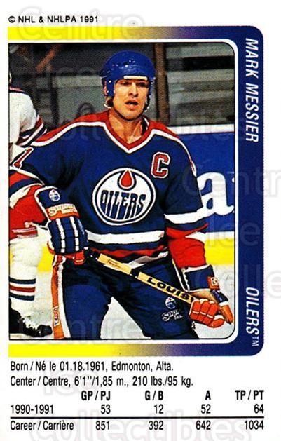 1991-92 Panini Stickers #124 Mark Messier<br/>5 In Stock - $1.00 each - <a href=https://centericecollectibles.foxycart.com/cart?name=1991-92%20Panini%20Stickers%20%23124%20Mark%20Messier...&quantity_max=5&price=$1.00&code=206257 class=foxycart> Buy it now! </a>