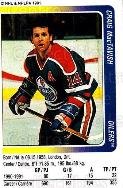 1991-92 Panini Stickers #132 Craig MacTavish<br/>7 In Stock - $1.00 each - <a href=https://centericecollectibles.foxycart.com/cart?name=1991-92%20Panini%20Stickers%20%23132%20Craig%20MacTavish...&quantity_max=7&price=$1.00&code=206258 class=foxycart> Buy it now! </a>